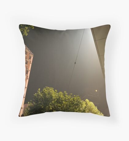 The Big Smoke Throw Pillow