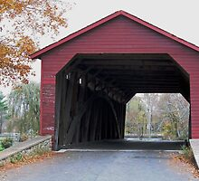 Autumn at Utica Bridge by WalnutHill