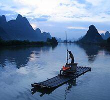 Yangshuo by Rhona