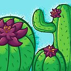Cactus Flower by jellysoupstudio
