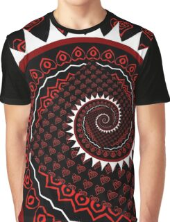 spiral traces Graphic T-Shirt
