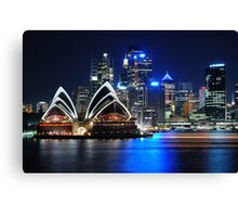 Harbour Sails Canvas Print