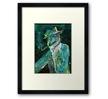 WDV - 301 - Smoking Hat A Framed Print