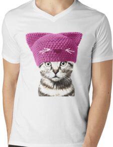 Pussyhat cat Mens V-Neck T-Shirt