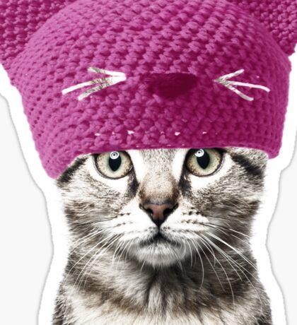 Pussyhat cat Sticker