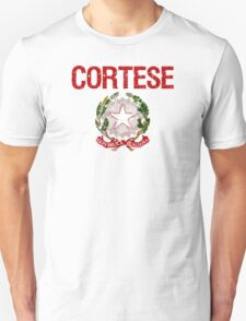 Cortese Surname Italian T-Shirt