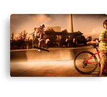 Sweet Jump Canvas Print