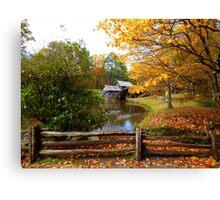 Mabry Mill, VA Canvas Print