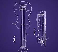 Les Paul Guitar Patent by Barry  Jones