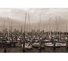 Sailing the Sepia Seas Photographic Print