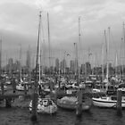 St Kilda Pier Boats by Rhys Allen