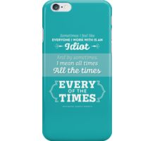 The Office Dunder Mifflin - Kevin Malone - Every of the Times iPhone Case/Skin