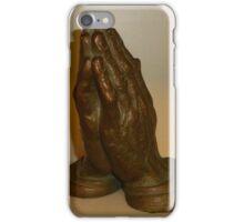 His Hands iPhone Case/Skin