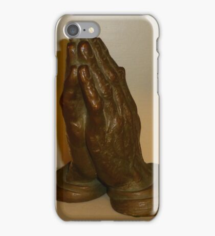 His Hands iPhone Case/Skin