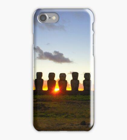 15 Moais iPhone Case/Skin