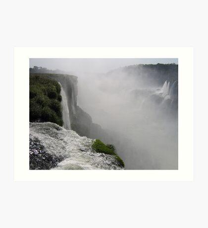 Mighty Iguazu Falls Art Print