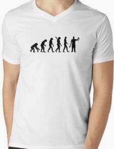 Evolution butcher Mens V-Neck T-Shirt