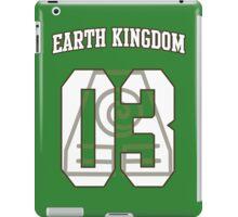 Earth Kingdom Jersey #03 iPad Case/Skin