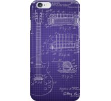 Ted McCarty Guitar Patent iPhone Case/Skin