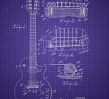 Ted McCarty Guitar Patent by Barry  Jones