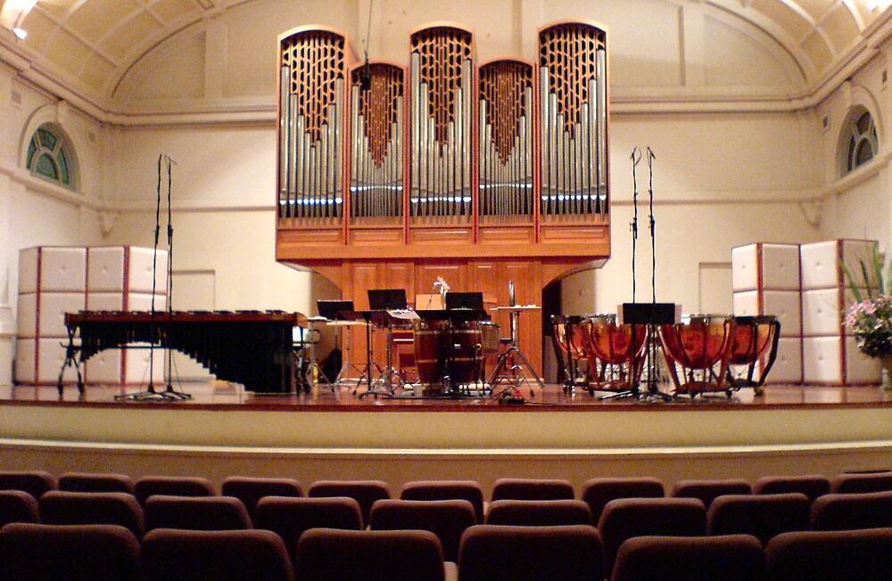 Precussion Recital at Melba Hall by Ameel Khan