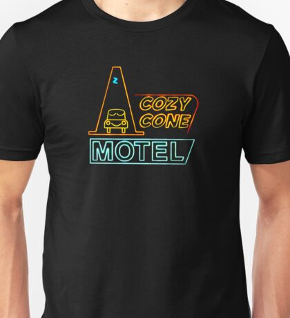 Cozy Cone Sign - Cars Unisex T-Shirt