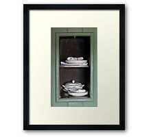 Dumb Waiter Framed Print