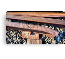 Old Mount Barker Railway Line. Canvas Print