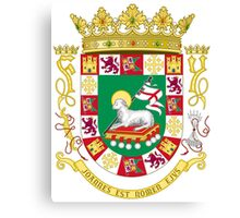 Coat of Arms of Puerto Rico Canvas Print