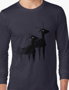 Geometric animals 4 Long Sleeve T-Shirt
