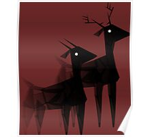 Geometric animals 4 Poster