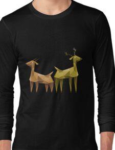 Geometric animals 1 Long Sleeve T-Shirt