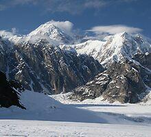 Ruth Glacier by John Clarke