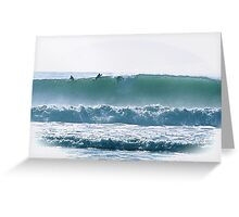 Speed of Water Greeting Card