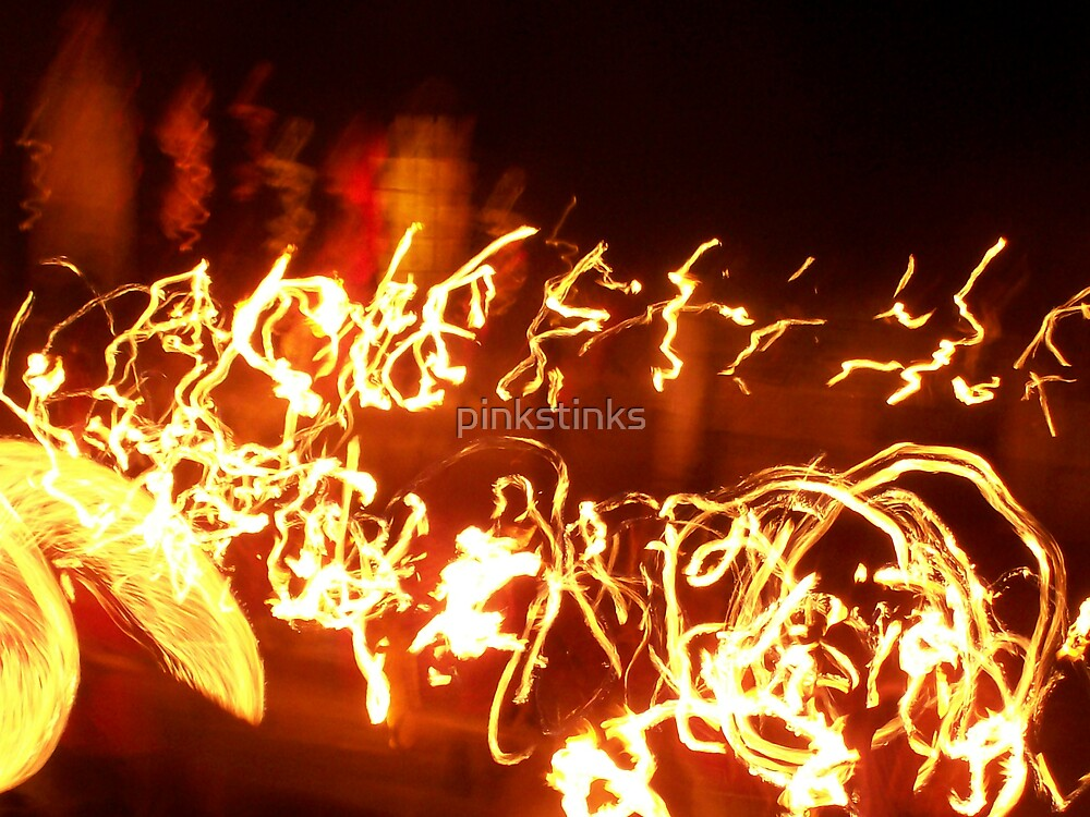 Fire Spirits by pinkstinks