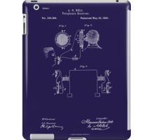 A. G. Bell Telephone Receiver Patent iPad Case/Skin