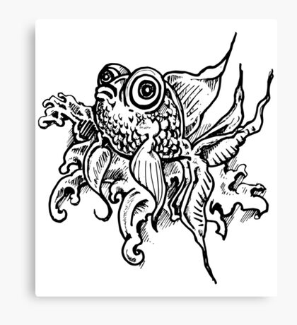 Goldfish - Boggly eyes and fins Canvas Print