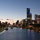The city of Melbourne by Ty Cooper