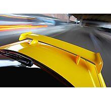 Yellow R34 Nissan Skyline rig shot Photographic Print