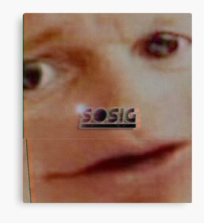 S O S I G Canvas Print