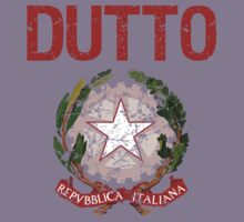 Dutto Surname Italian Kids Clothes