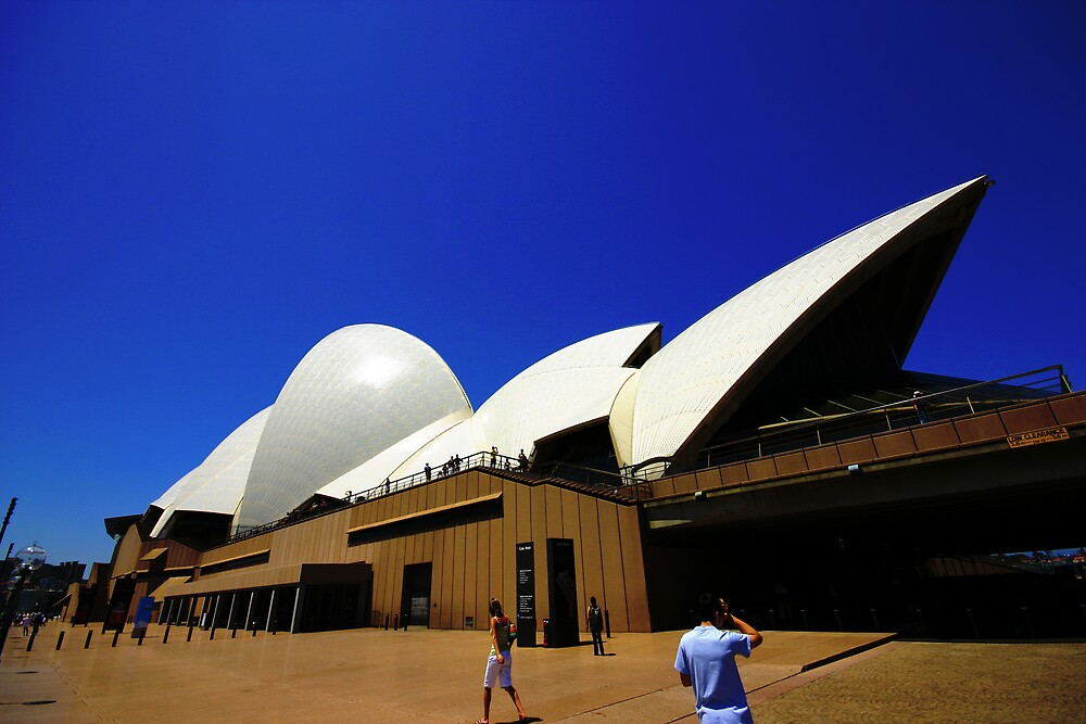 Sydney Opera House by Unclebigdave