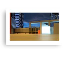Crown Carpark Canvas Print