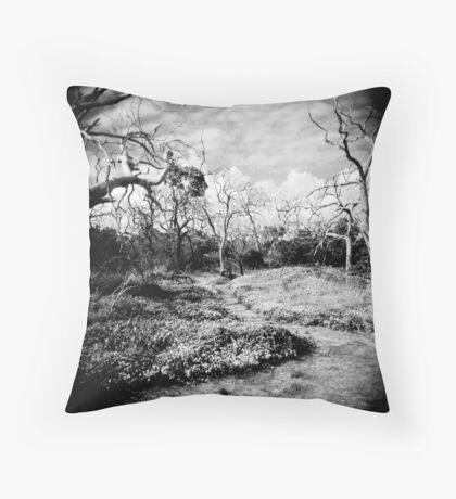 The Faraway Holga Throw Pillow