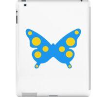 Blue butterfly iPad Case/Skin