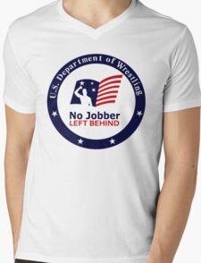 No Jobber Left Behind Mens V-Neck T-Shirt