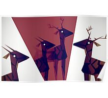 Geometric animals A Poster