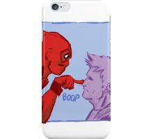 Hawkeye and Deadpool - BOOP iPhone Case/Skin