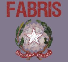 Fabris Surname Italian Kids Clothes