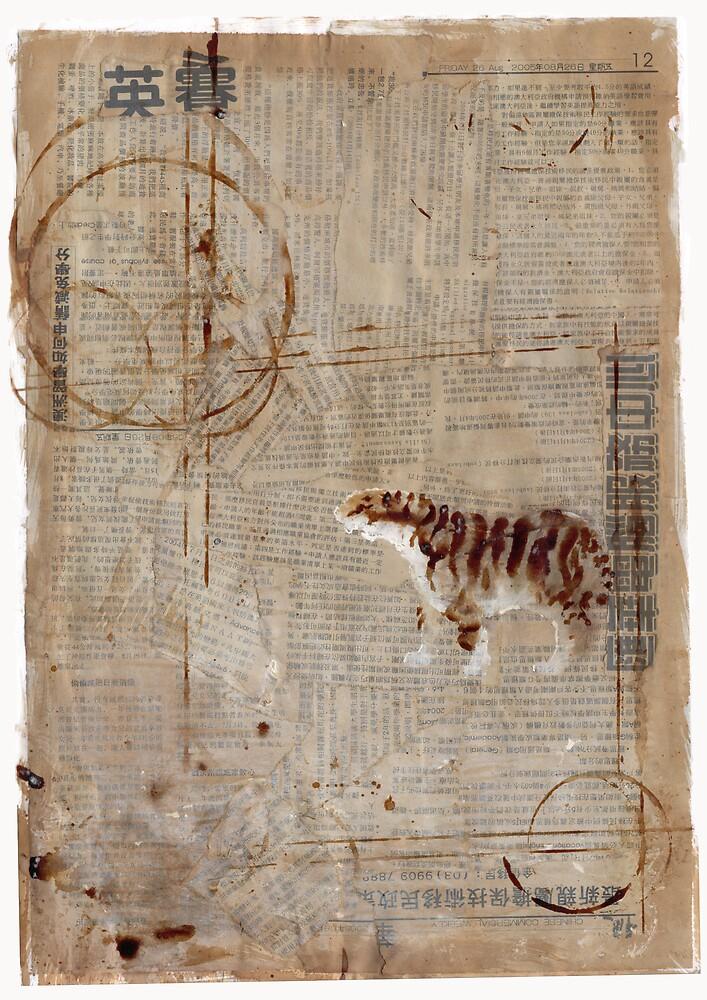 Paper Tiger by wyvex
